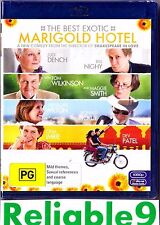 Judi Dench- The best exotic Marigold Hotel Bluray + Special features Sealed 2012