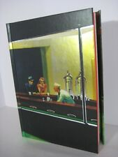 EDWARD HOPPER Nighthawks Lined Blank Journal Magnetic Closure 8.5 x 6