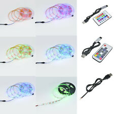 SMD RGB 5050/2835 DC 5V 300 LEDS 5M Flexible Strip Light + Remote Controller