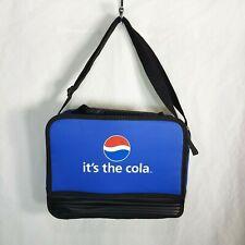 Koozie Pepsi Cola Insulated Lunch Bag Cooler Blue Adjustable Shoulder Strap
