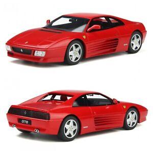 1/18 GT Spirit Ferrari 348 GTB Red 1993 Neuf Jamais Ouverte Livraison Domicile