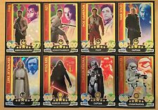 Star Wars Force Attax Extra_Movie Serie 4_seltene Holo-Karten_1 Karte aussuchen