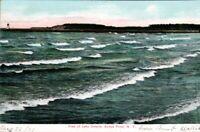 Antique Postcard  Lighthouse Sodus Point  New York, Lake Ontario  pb11