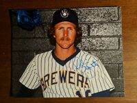 Robin Yount Signed 8x10.  Authentic Autograph