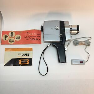 Vintage Yashica Super-8 50 Movie Camera *Great 1960's Movie And Stage Prop*