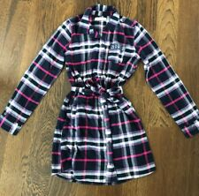 NWOT Abercrombie Kids Plaid Button Down Dress With Belt 11/12