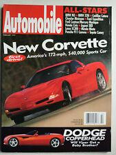Automobile 2/1997 mit Corvette, BMW M3, Jaguar XK8, Porsche 911 Carrera, Lexus