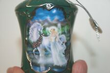 Bradford Ornament - Joyce Patti Moonlit Trail - Magical Nightwalk Unicorn Fairy