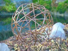 Edelrost Kugel D: 32 cm rostig Gartendeko Rost Metall Metallkugel Rostkugel