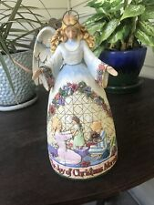 Jim Shore Joy of Christmas Morning Angel Figurine 2006 Tag Enesco 4005325
