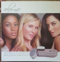 Color Me NIB Automatic Foundation Application Kit Flawless Perfect Make-Up