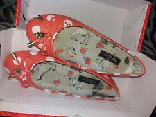Iron Fist Rare Lamb Lamby Flat Shoes Coral 37