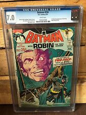 BATMAN 234 CGC 7.0 FN/VF 1ST SILVER AGE APP OF TWO-FACE (ID 6910)