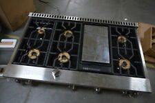 "Viking Pro 7 Series Vgrt7486Gss 48"" Stainless Gas Rangetop Griddle #29952 Hrt"