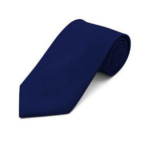 Formal Classic Mens Tie Solid Color Necktie Neckwear 3.5inch Width