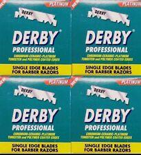 DERBY SINGLE EDGE PROFESSIONAL RAZOR BLADES 4 PACKS 100 IN EACH PACK 400Blades