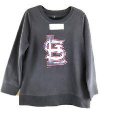 Fanatics St. Louis Cardinals Black Crew Neck Pullover Sweatshirt Ladies XL NEW