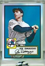 JOE DIMAGGIO CARDS THAT NEVER WERE ETOPPS IN-HAND CHROME-LIKE