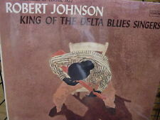 ROBERT JOHNSON KING OF DELTA BLUES PART ONE COLUMBIA RECORDS CL 1654 NO BARCODE