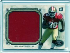 2013 MUSEUM COLLECTION #MJR-ML MARCUS LATTIMORE ROOKIE CARD JERSEY 64/75 - 49ERS