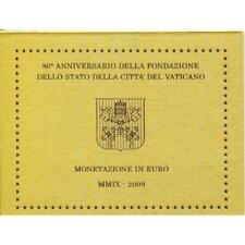 Série Euro Vatican 2009 Divisionnaire Pape Benoît XVI