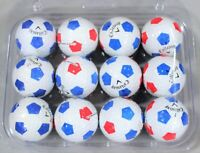 12 Callaway Chrome Soft Truvis Blue/White Mix (3A) AAA Used Golf Balls