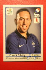 Panini EURO 2012 N. 474 FRANCE RIBERY  NEW With BLACK BACK TOPMINT!!