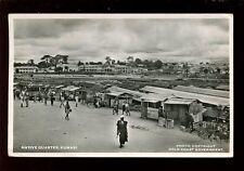 West Africa Gold Coast Kumasi Native Quarter 1953 RP PPC