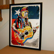 Willie Nelson On the Road Again Always on My Mind Poster Print Wall Art 18x24