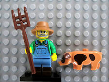 LEGO Minifigure Series 15 Farmer 71011 New & Sealed, Pig Pitchfork Hat