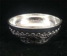 Exquisite hand carved decorative collection of old Tibet Shou word rice bowl
