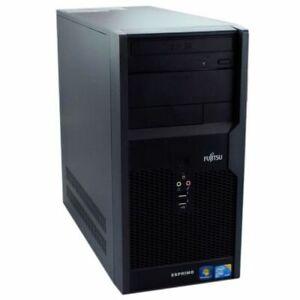 FUJITSU ESPRIMO P2560/INTEL CORE DUO QUAD 2.5GHZ/4GB DDR3/750GB HDD/WIN 10 PRO