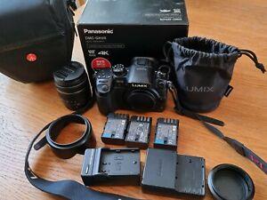 Panasonic LUMIX DMC-GH4 16MP 4K PRO Camera 1x LENSE (14-42) + BAG + 3x batteries