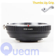 Focal Reducer Speed Booster Adapter For Canon EOS EF Lens to Micro 4/3 M43 GX8
