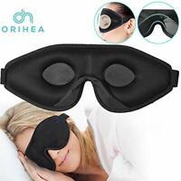 OriHea Sleep Mask for Women & Men, 3D Comfort Ultra Soft Premuim Eye Mask for