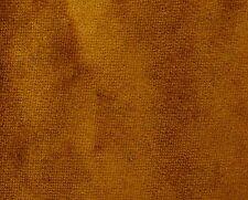 Samt Designerstoff 60 Schneiderei braunen festen Muster Material durch die Yar