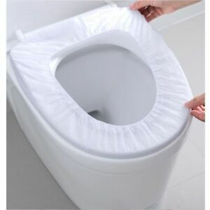 Disposable Toilet Covers for Warm Clean Seat Fabric Toilet Covers for Guests 20s