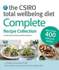 The CSIRO Total Wellbeing Diet: Complete Recipe Collection - Lose Weight NEW AU