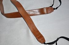 FOR NIKON PU LEATHER BROWN SHOULDER NECK STRAP FOR NIKON CAMERA NEW