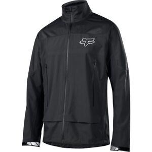 Fox Attack Water Jacket Black - S, M, L, XL - Mountain Bike Waterproof Winter