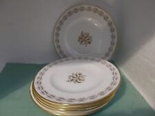 Royal Crown Derby 15.5cm side/tea plates x 6 (harvest poppy) A.1245 (2nds)