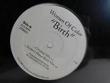 """New listing Women Of Color – Birth 12"""" Single 1997 Deep House NEW SEALED"""