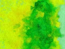 WATERCOLOUR PAINT PAINTING GREEN PHOTO ART PRINT POSTER PICTURE BMP296A