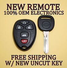 NEW GM CHEVY CADILLAC BUICK KEYLESS ENTRY REMOTE FOB TRANSMITTER OUC60221 W/ KEY
