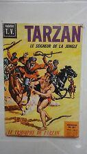 TARZAN LE SEIGNEUR DE LA JUNGLE 1969 N°21 MENSUEL VEDETTES TV