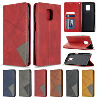 Splice Wallet Leather Flip Cover Case For Xiaomi Redmi Note 9 Note 9S K20 7A 8A