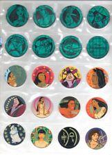 POCAHONTAS Complete set 78 Toys Collection DISNEY VINTAGE Figures Tazos Pogs