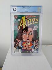 ACTION COMICS #662 CGC 9.0 Superman reveals Secret Identity to Lois Lane