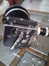 Vintage 1950s Paillard Bolex 16mm movie camera with 3 lenses & Accesories