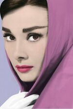 AUDREY HEPBURN POSTER (61x91cm) PINK SHAWL PICTURE PRINT NEW ART